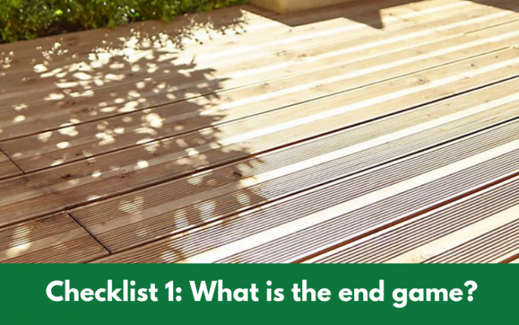 Checklist 1_ What is the end game_