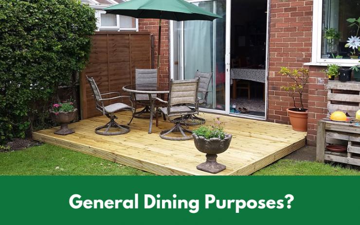 General Dining Purposes_