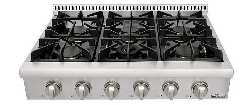 Thor Kitchen Pro-Style 6-Sealed Burners Gas Cooktop