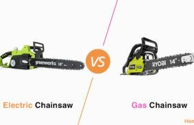 Electric vs. Gas Chainsaw