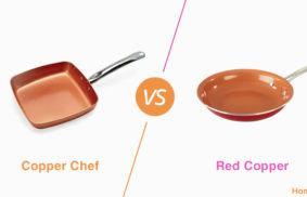 Copper Chef vs. Red Copper