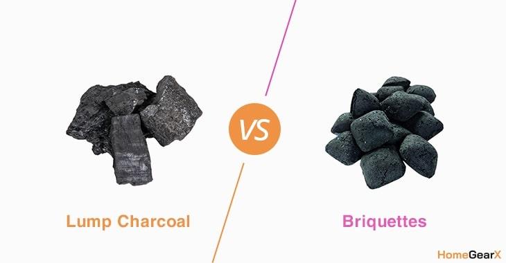 Lump Charcoal vs. Briquettes
