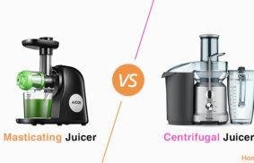 Masticating vs. Centrifugal Juicer