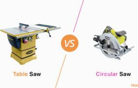 Table Saw vs. Circular Saw