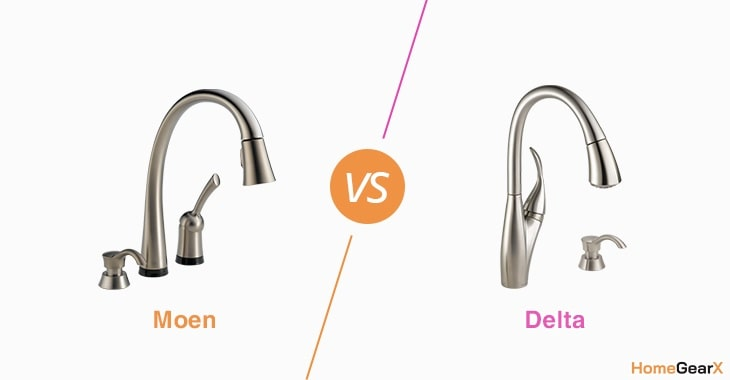 Moen vs. Delta