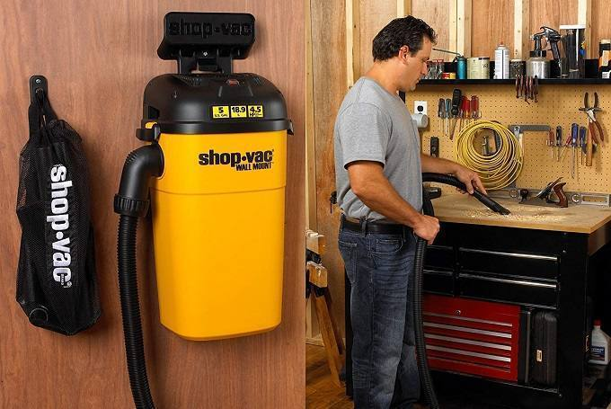 Best Wall Mounted Shop Vac