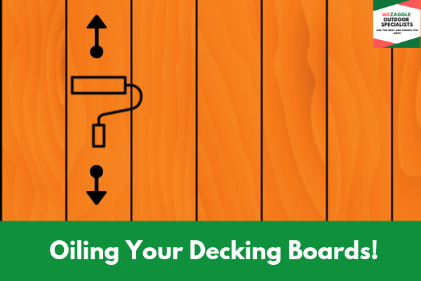 Oiling Your Decking Boards!
