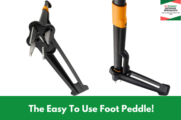 The Easy To Use Foot Peddle!