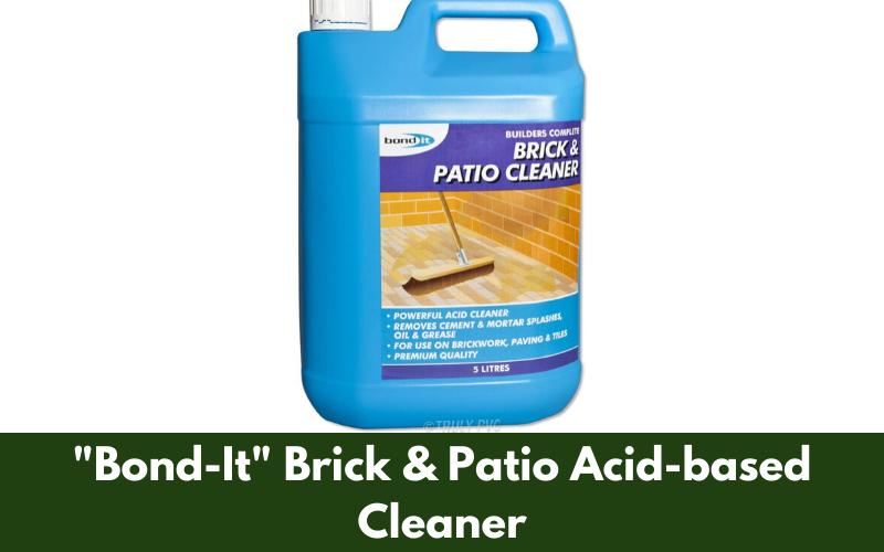 """""""Bond-It"""" Brick & Patio Acid-based Cleaner"""