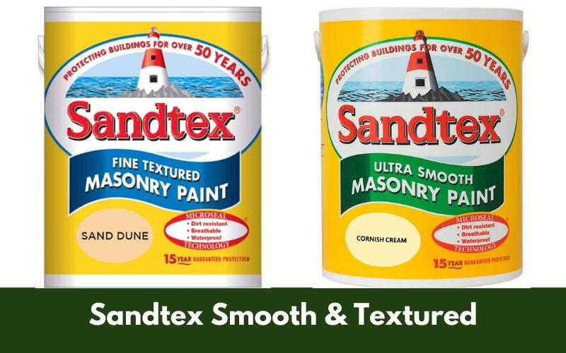 Sandtex Smooth & Textured
