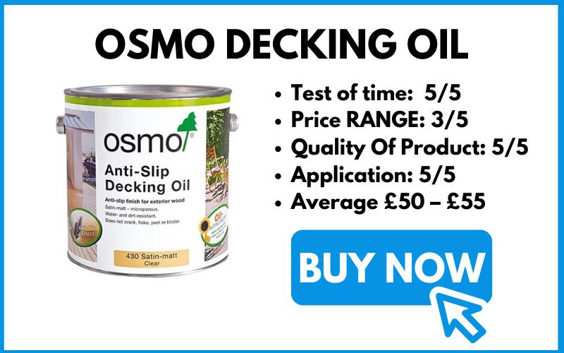 BUY OSMO DECKING OIL