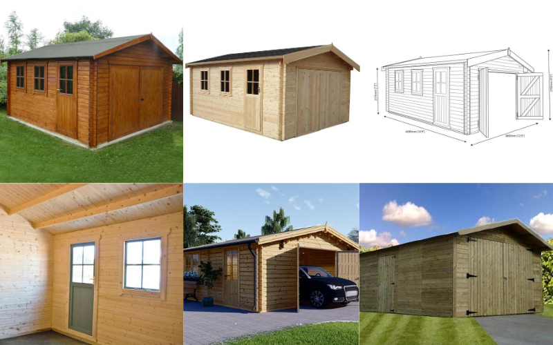 Choosing The Perfect Wooden Garage