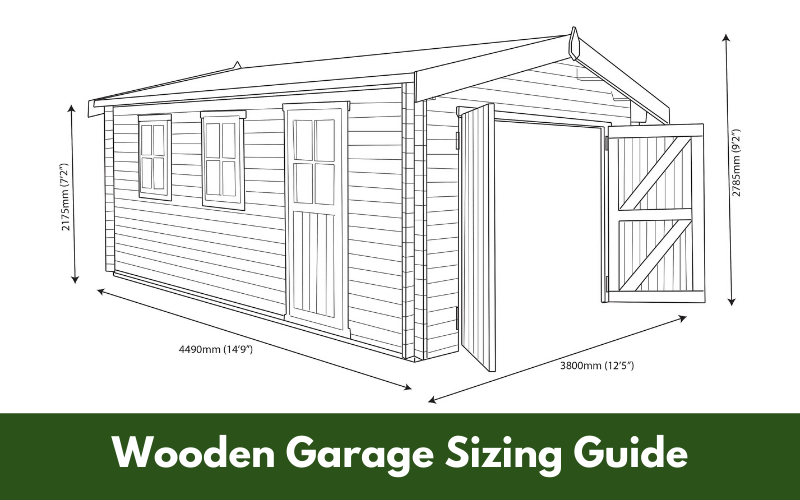 Wooden Garage Sizing Guide