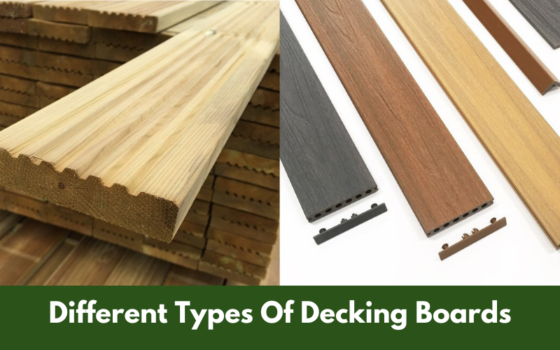 Different Types Of Decking Boards