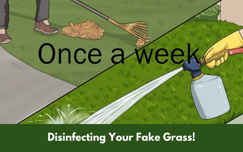 Disinfecting Your Fake Grass!