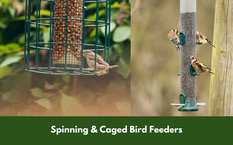 Spinning & Caged Bird Feeders