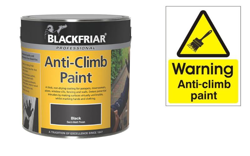 Blackfriar Anti-climb paint
