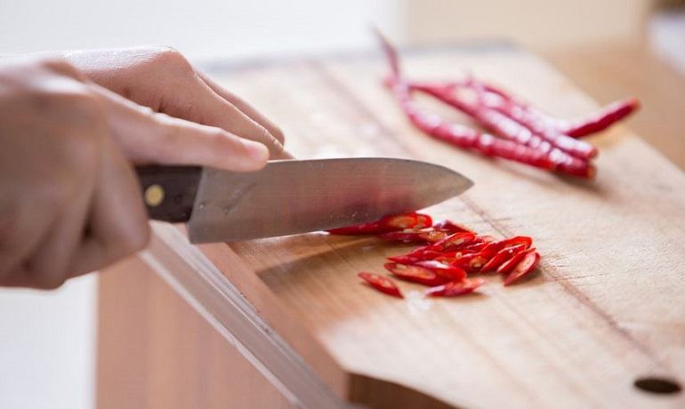 Materials Used to Create Kitchen Knife