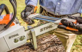 When to Sharpen a Chainsaw
