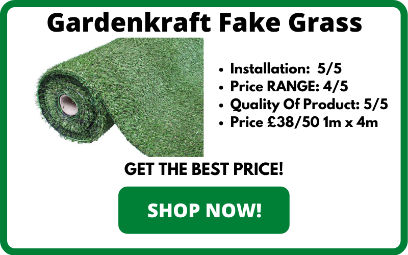 Gardenkraft Fake Grass
