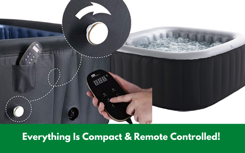 Everything Is Compact & Remote Controlled!