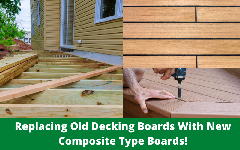 Replacing Old Decking With Composite