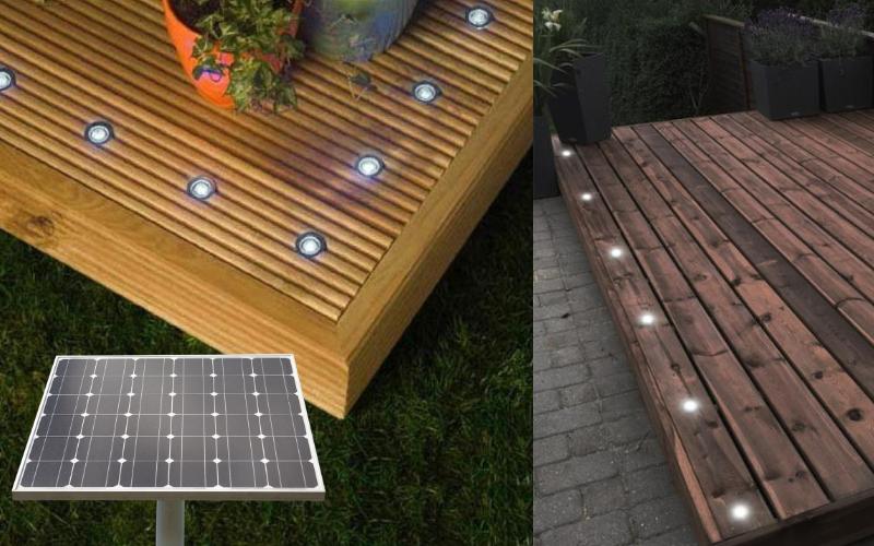 Solar Powered Decking Lights