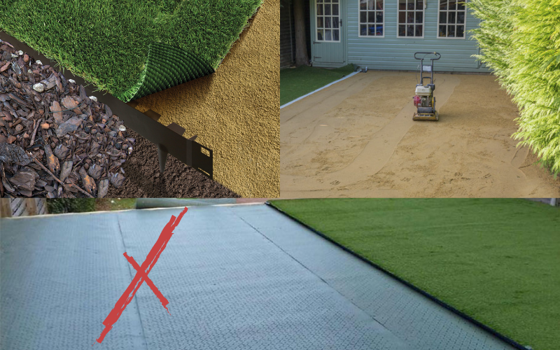 Artificial Grass and Membrane
