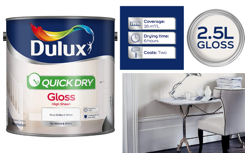 Dulux Quick-Dry Gloss