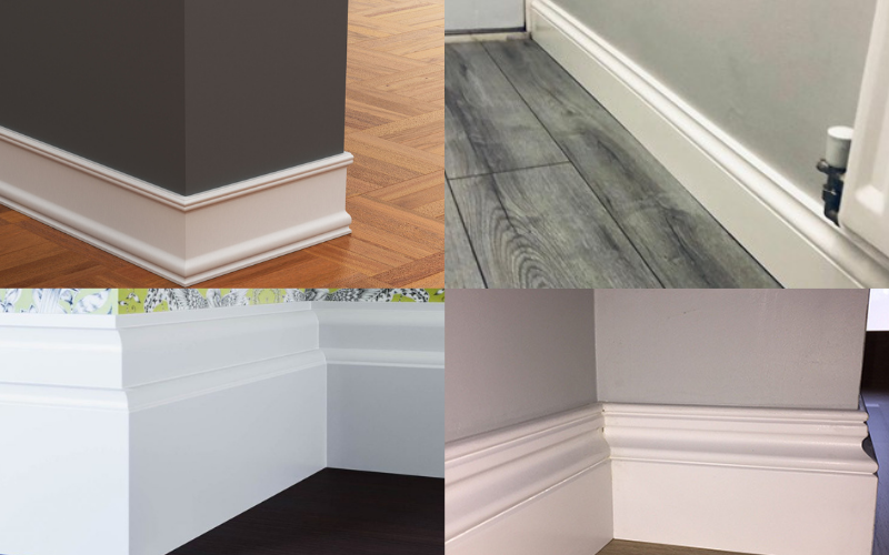 Glossing your skirting boards