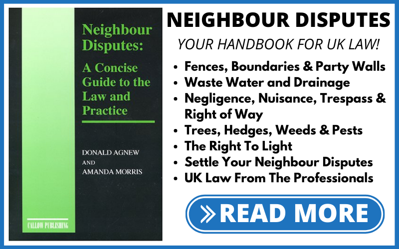 Neighbour Disputes - Law and Practises