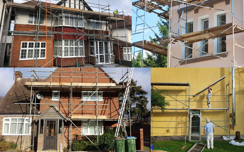 Use the correct scaffolding