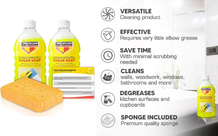 Bartoline Sugar Soap Concentrate