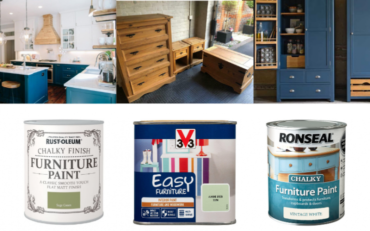 Examples of Furniture Paints