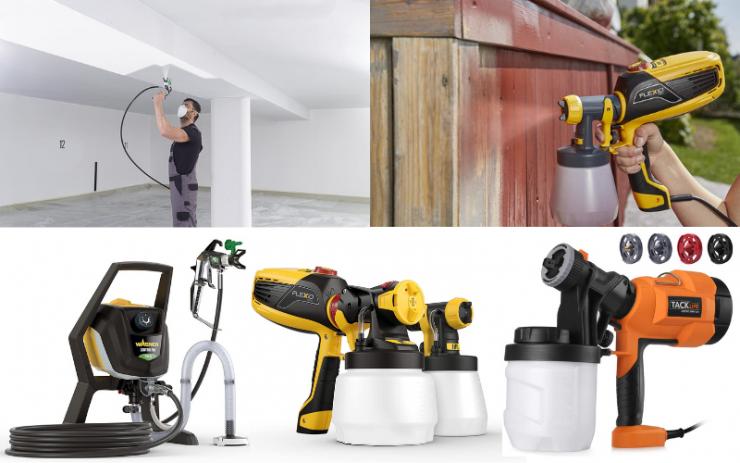Paint Sprayer Examples