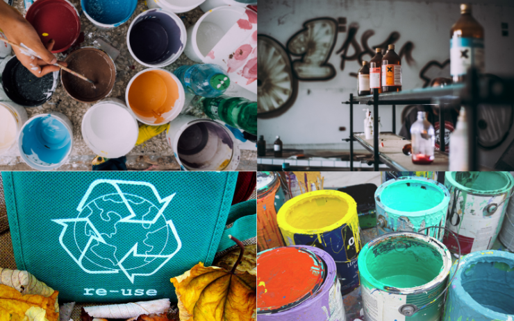 Recycle Your Old Paint!