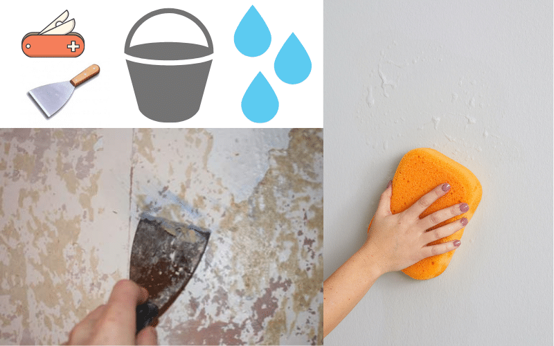 Removing wallpaper method