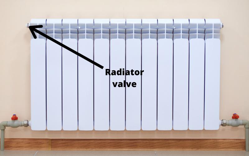 Bleeding a radiator