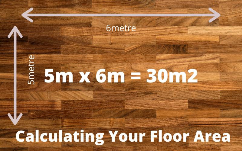 Calculating your floor area