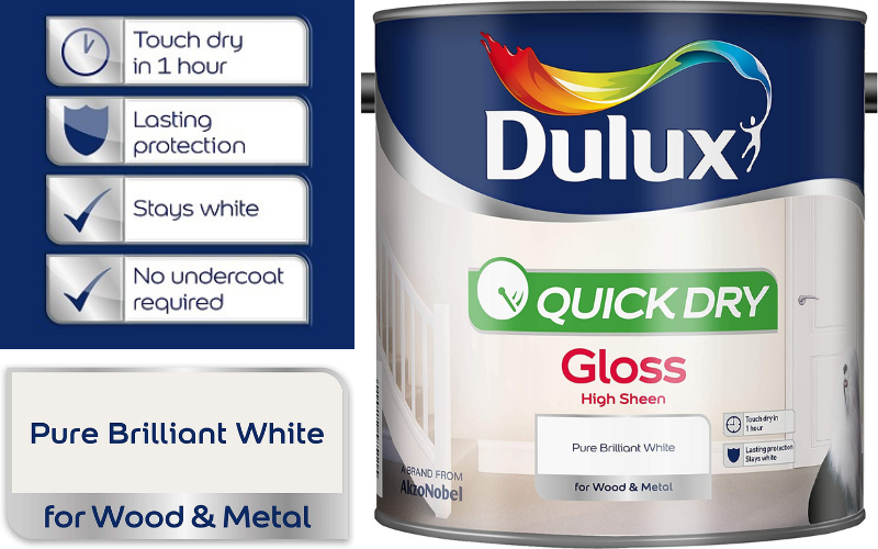 Dulux Low-Odour Gloss Paint