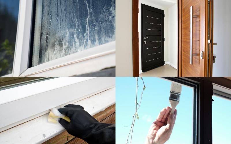 Painting uPVC Windows & Doors