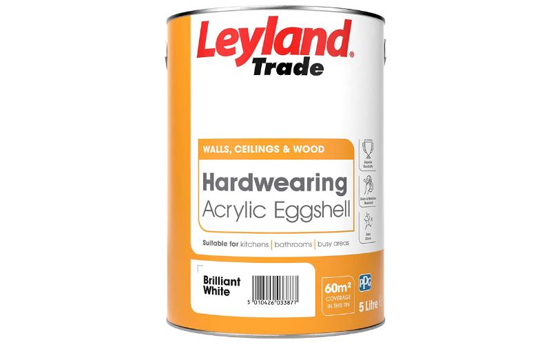 Eggshell Acrylic By Leyland