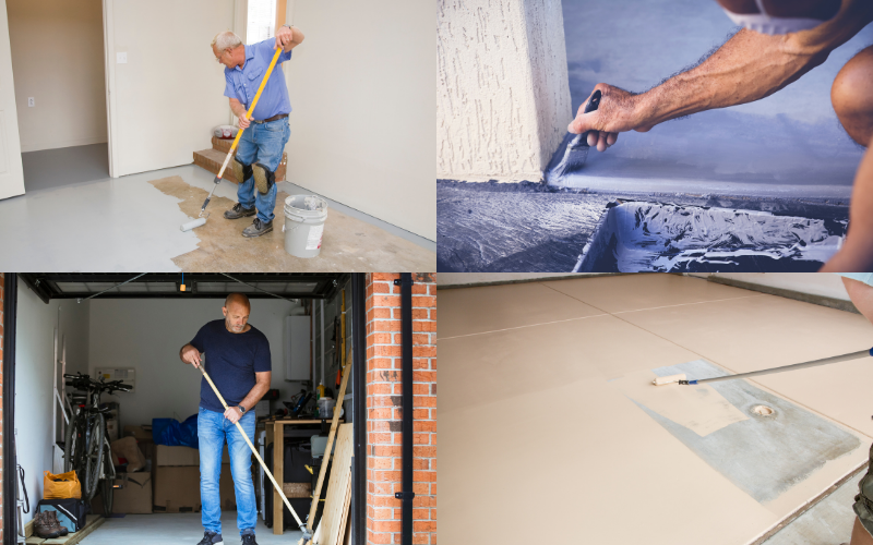 Garage Floor Paint Examples