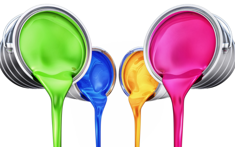 Mixing Gloss Paints Example