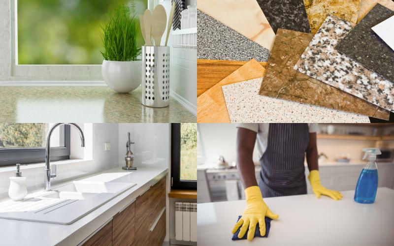 Clad Your Kitchen Worktops - Example