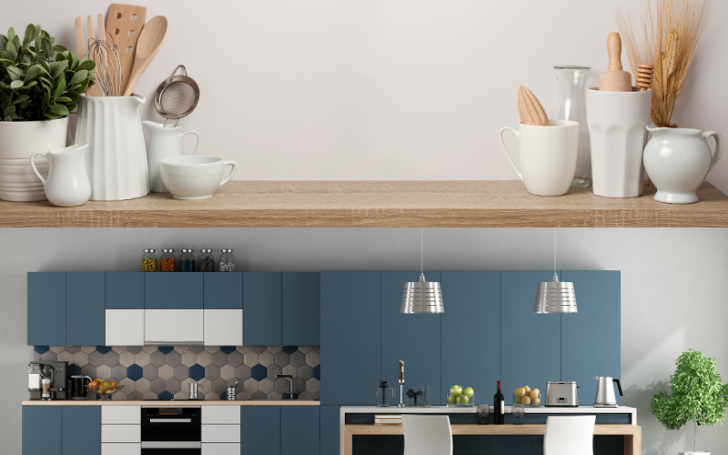 Kitchen wall paint - Examples