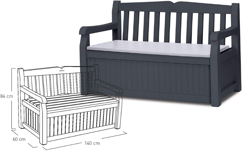 The Keter Storage Bench
