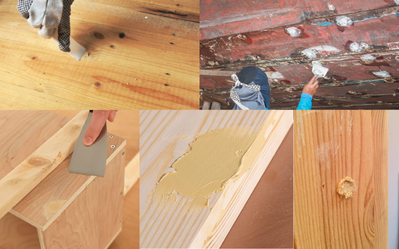 Wood Filler Examples