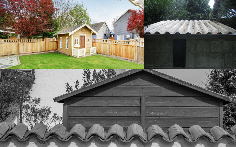 Over Hanging Shed Roofs - Example