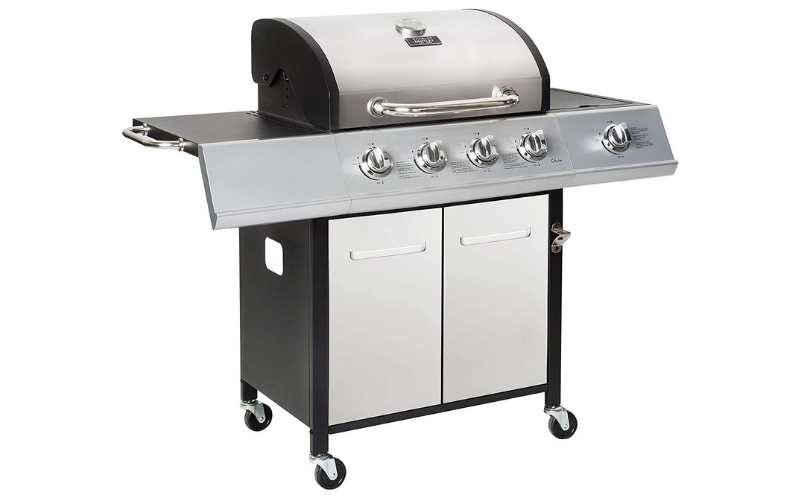 The Charles Bentley Gas Grill!